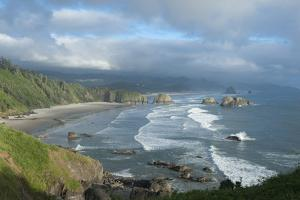 The Oregon Coast and Cannon Beach from Ecola State Park, Oregon by Greg Probst