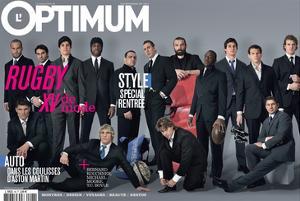 L'Optimum, September 2007 - Les Rugbymans du Xv de France Habillés Par Eden Park by Greg Soussan
