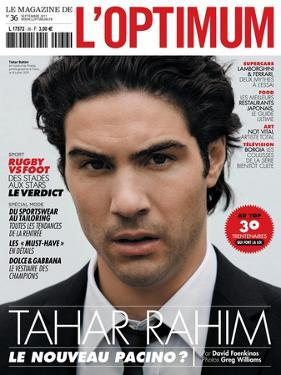 L'Optimum, September 2011 - Tahar Rahim by Greg Williams