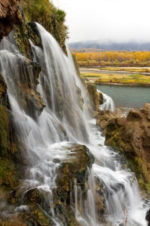 Fall Creek Falls, Along the South Fork of the Snake River by Greg Winston