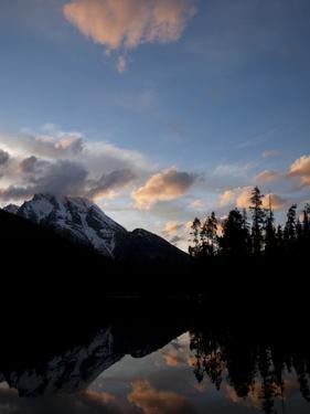 Sunset at String Lake in Grand Teton National Park, Wyoming by Greg Winston