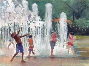 Fun in the Fountain by Gregg DeGroat