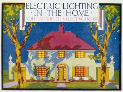 Electric Lighting in the Home, 1910