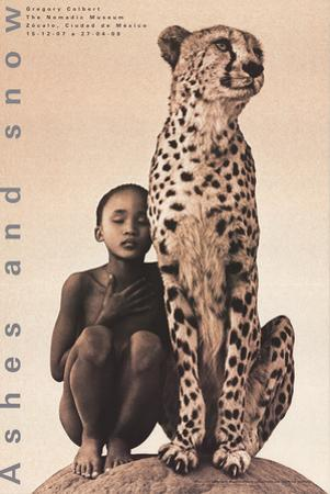 Child with Cheetah, Mexico by Gregory Colbert