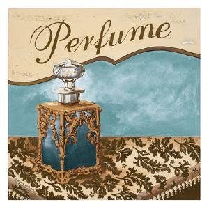 Bath Accessories III - Blue Perfume by Gregory Gorham