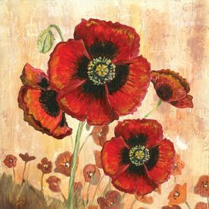 Big Red Poppies I by Gregory Gorham