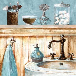 Blue Bath I by Gregory Gorham