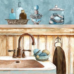 Blue Bath II by Gregory Gorham