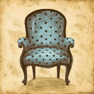 Blue Chair V by Gregory Gorham