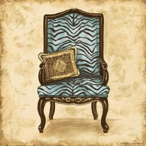 Blue Chair VI by Gregory Gorham