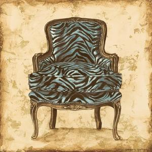 Blue Chair VII by Gregory Gorham