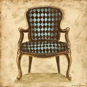 Blue Chair VIII by Gregory Gorham