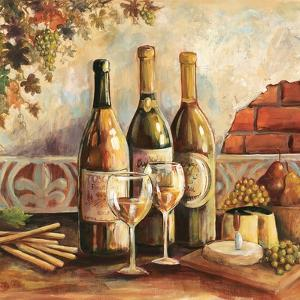 Bountiful Wine Sq I by Gregory Gorham