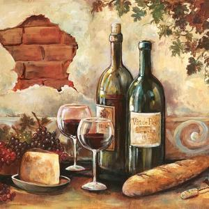 Bountiful Wine Sq II by Gregory Gorham