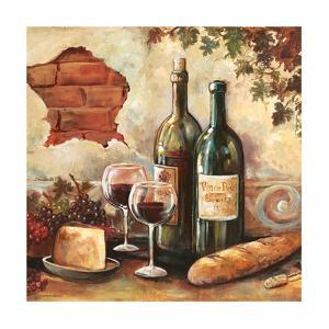 Bountiful Wine Sq II by Gregory Gorham