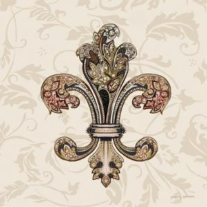 Fleur de Lis Motif I by Gregory Gorham