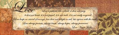 Love Never Fails - special