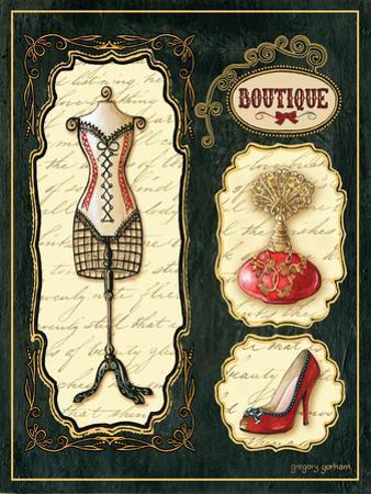 Paris Boutique En Rouge I