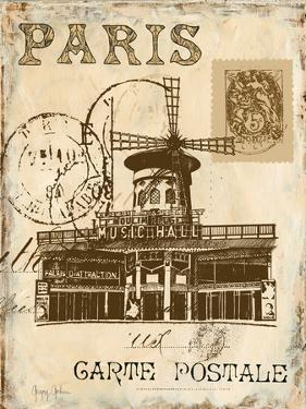 Paris Collage IV - Moulin Rouge by Gregory Gorham