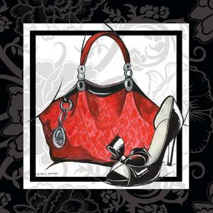 Purse and Shoe I by Gregory Gorham