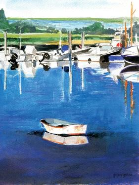 Reflections Stage Harbor by Gregory Gorham