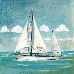 Sailboats II by Gregory Gorham