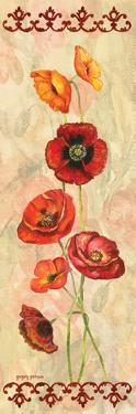 Scarlet Poppies I by Gregory Gorham