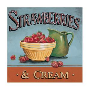 Strawberries and Cream by Gregory Gorham
