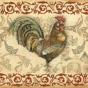 Toile Rooster III by Gregory Gorham