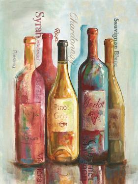 Wine Cellar Motif I by Gregory Gorham