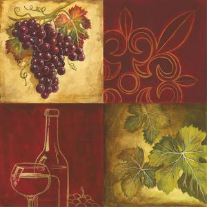 Wine Collage II by Gregory Gorham