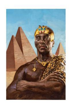 Taharqa Was the Greatest of Egypt's Nubian Kings by Gregory Manchess