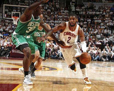 Boston Celtics v Cleveland Cavaliers - Game One by Gregory Shamus