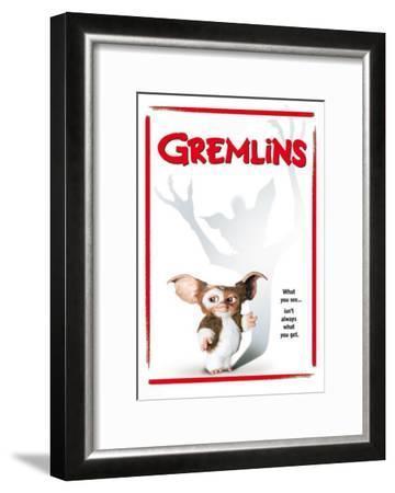 Gremlins--Framed Masterprint