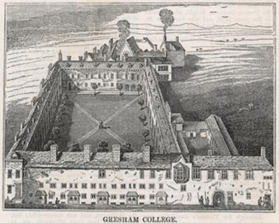 Gresham College 1834 by I Dodd
