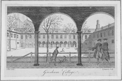 Gresham College, City of London, 1766