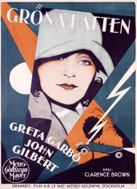 Greta Garbo in Grona Hatten