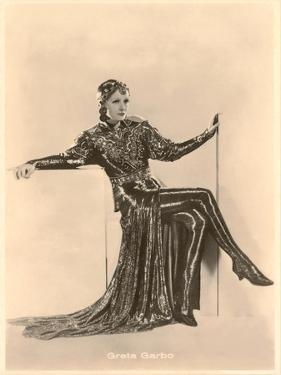 Greta Garbo in Slinky Outfit