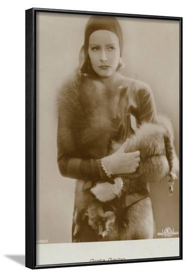 Greta Garbo--Framed Photographic Print