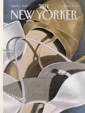 The New Yorker Cover - April 3, 1989 by Gretchen Dow Simpson