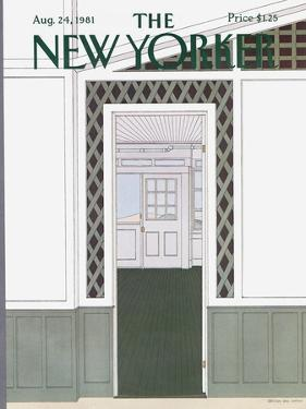 The New Yorker Cover - August 24, 1981 by Gretchen Dow Simpson
