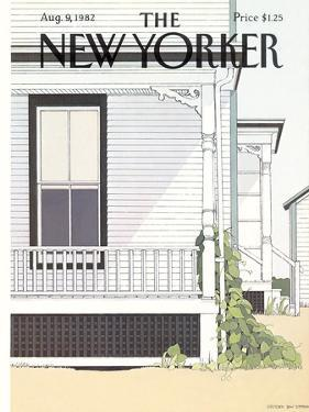 The New Yorker Cover - August 9, 1982 by Gretchen Dow Simpson