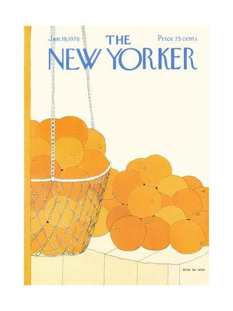 The New Yorker Cover - January 19, 1976