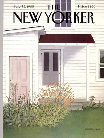 The New Yorker Cover - July 15, 1985