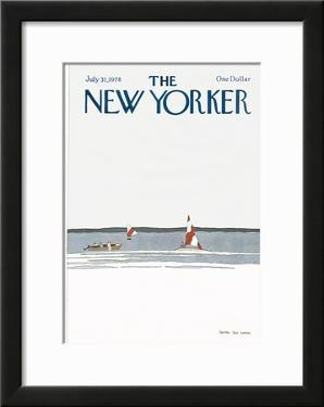 The New Yorker Cover - July 31, 1978 by Gretchen Dow Simpson