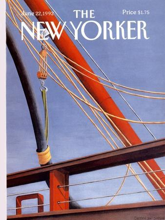 The New Yorker Cover - June 22, 1992