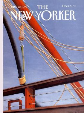 The New Yorker Cover - June 22, 1992 by Gretchen Dow Simpson