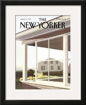 The New Yorker Cover - June 8, 1987 by Gretchen Dow Simpson