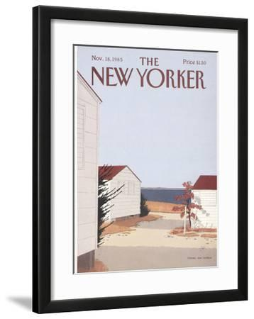 The New Yorker Cover - November 18, 1985 by Gretchen Dow Simpson