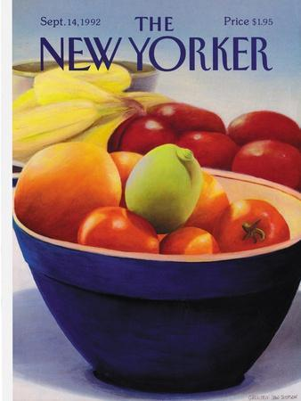 The New Yorker Cover - September 14, 1992